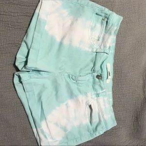 Pants - Blue and white shorts